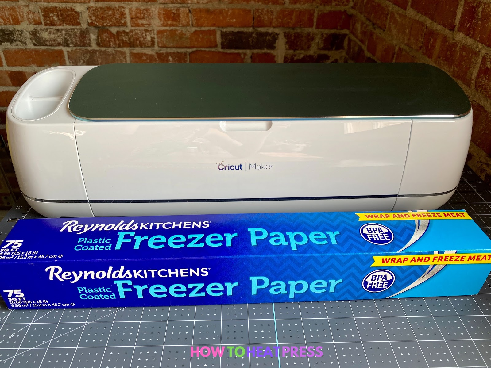 reynolds freezer paper and cricut maker