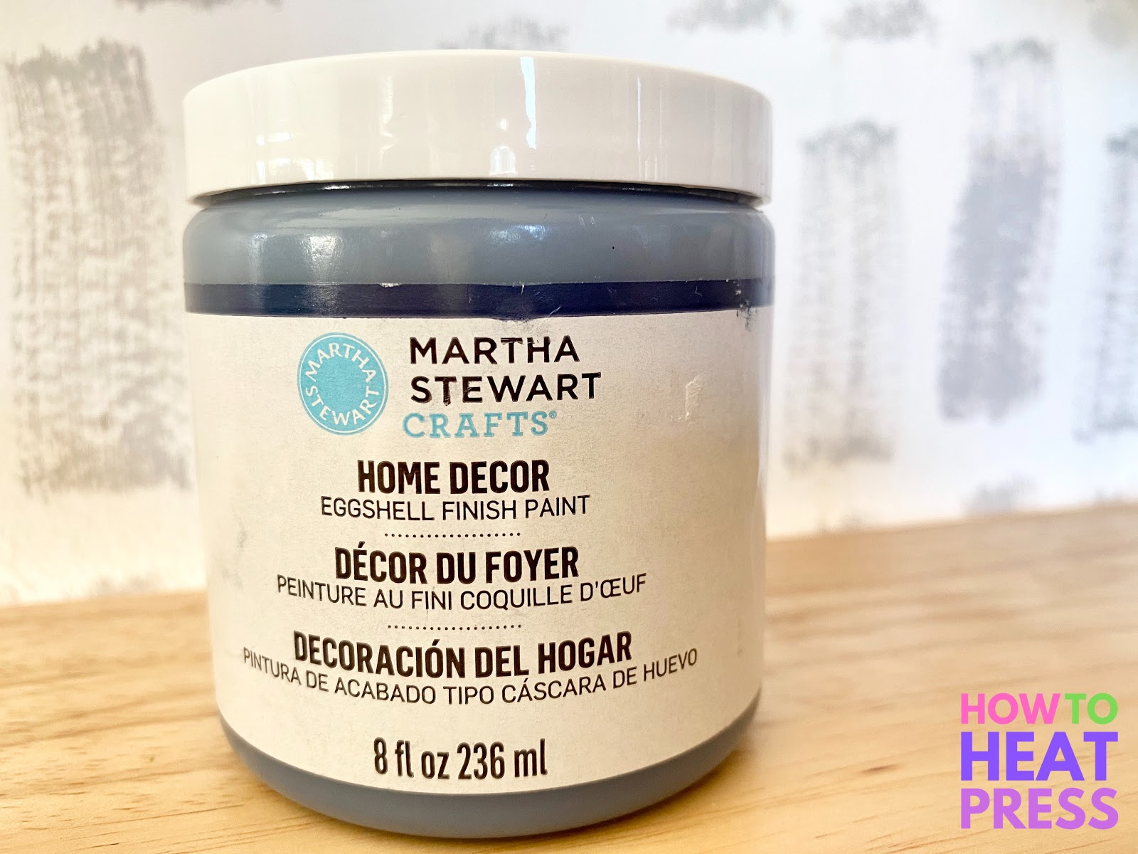 Martha Stewart home decor eggshell paint in ink