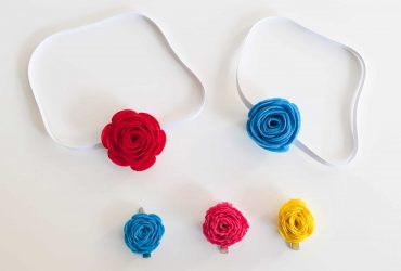 Cricut Rotary Blade Guide With Felt Flowers Project!