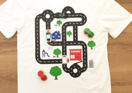 The Best Fathers Day T Shirt! An Interactive Race Car Track Tee
