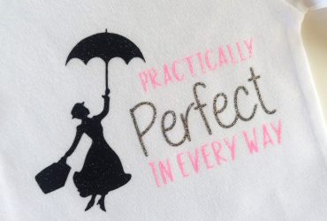 Mary Poppins Silhouette SVG Cricut Project!