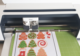 How To Make Stickers With Cricut – A DIY Christmas Cookie Jar