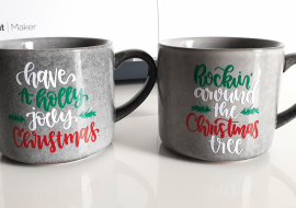 What Is Reverse Weeding For Vinyl & HTV? Cricut Mug Project