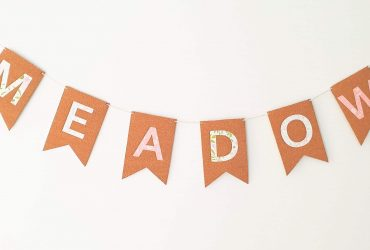 Cricut Toddler Room Decor – Bunting Flags With Cork Sheets!