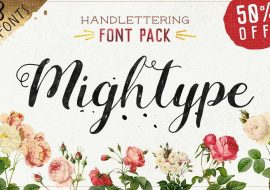 15 Best Hand Lettering Fonts For Cricut & Silhouette