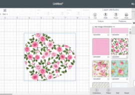 Cricut Patterns: How To Upload & Use Them!